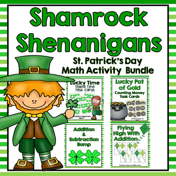 St. Patrick's Day Math Game and Activity Bundle