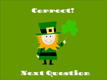 St. Patrick's Day Fractions Quiz