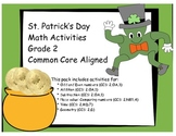 St. Patrick's Day Math Activities! Grade 2 COMMON CORE ALIGNED
