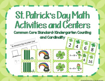 St. Patrick's Day Math Center