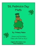St. Patrick's Day Math Activities and Games