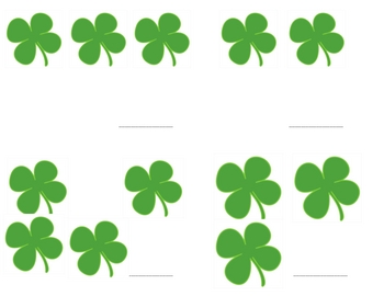 St. Patrick's Day Math Activities and  Printables