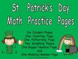St Patrick's Day Math Activities for Kindergarten