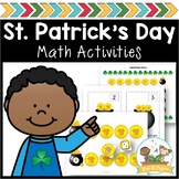 St. Patrick's Day Math Activities for Pre-K