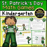 St. Patrick's Day Math Games  (Kindergarten}