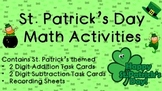 St. Patrick's Day Math Addition and Subtraction Activities