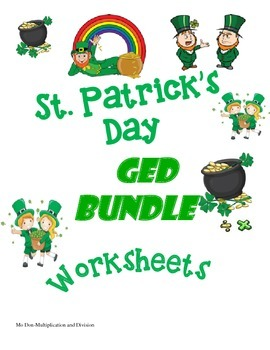 St. Patrick's Day GED Bundle