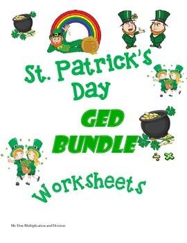 St. Patrick's Day GED Bundle