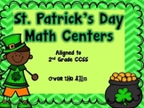 St. Patrick's Day Math Centers {2nd Grade CCSS}