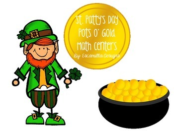 St. Patrick's Day Math Centers & Activities