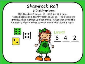 St. Patrick's Day Math Centers ~ Gr 1-2 ~ Common Core!