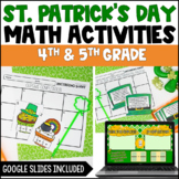 St. Patrick's Day Math Activities | Digital St. Patrick's Day Activities