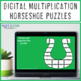 St Patricks Day Math Centers, St Patricks Day Math Game Multiplication Horseshoe