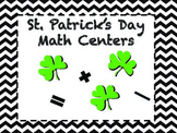 St. Patrick's Day Math Centers/Activities