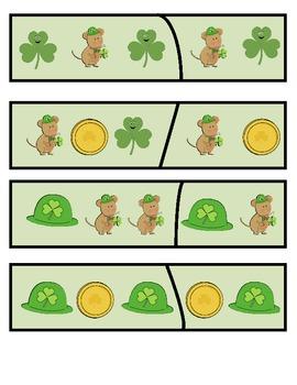 St. Patrick's Day Math Common Core Unit for K!