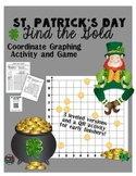 St. Patrick's Day Math Game: Coordinate Graphing Game