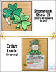 St. Patricks Day Math Craftivities {Equations, Word Problems, Graphing}