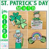 St. Patrick' Day Math Craftivities for 1st Grade-Graphing,