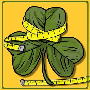 St. Patrick's Day Math Freebie - Measurement & Estimation