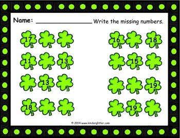 St. Patrick's Day Math Fun!