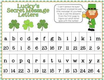 St. Patrick's Day Math Fun with Lucky Leprechaun