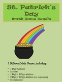 St. Patrick's Day Math Games BUNDLE