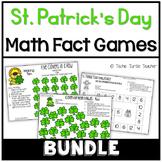 St. Patrick's Day Math Games Bundle - Making Ten, Doubles, Near Doubles