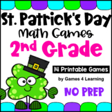 St. Patrick's Day Math Games Second Grade