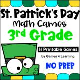 St. Patrick's Day Math Games Third Grade