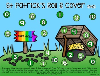 St Patricks Math Games