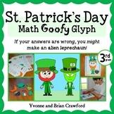St. Patrick's Day Math Goofy Glyph (3rd grade Common Core)