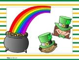 St. Patricks Day Math I Spy