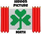 St. Patrick's Day Math - Leprechaun's Language O' Math - Hidden Picture