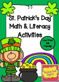St. Patrick's Day Math & Literacy Low Prep Activities