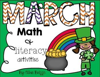 St. Patrick's Day Math & Literacy Activities {Kindergarten}