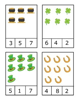 St. Patrick's Day Math & Literacy Activities Packet