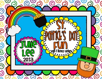 St. Patrick's Day Math & Literacy Centers