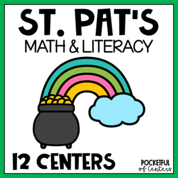 St. Patrick's Day Math & Literacy Centers for Pre-K and Kindergarten