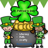 St. Patrick's Day  Math, Literacy and Crafty