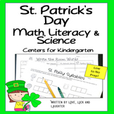 St. Patrick's Day: Math, Literacy and Science Centers for Kindergarten