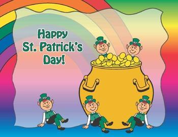 St. Patrick's Day No Prep Grade 3 Math Activities
