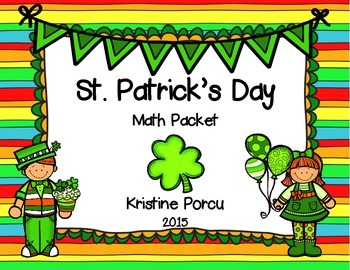 St. Patrick's Day Math Packet