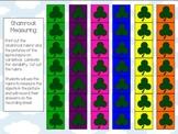 St. Patrick's Day Math Packet Kindergarten Measuring Addit