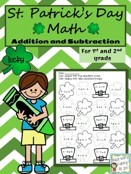 St Patrick's Day Math Packet (Primary)