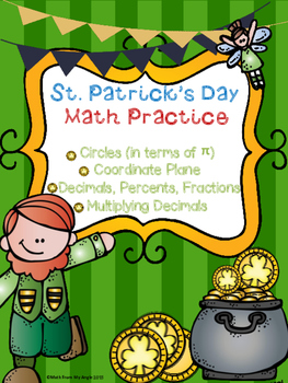 St. Patrick's Day Math Practice