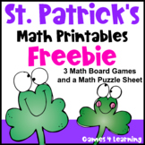 St. Patrick's Day Free: St Patrick's Day Math
