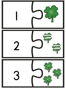 St. Patrick's Day Math Puzzle
