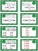 St. Patrick's Day Math Skills & Learning Center (Compare &