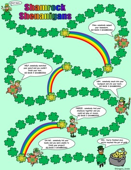 St. Patrick's Day Math Skills & Learning Center (Multiply & Divide Decimals)