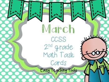 St. Patrick's Day Math Task Cards